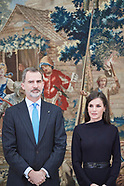 021720 Spanish Royals attends the Delivery of the National Research Awards 2019