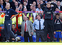 Fotball<br /> England 2004/2005<br /> Foto: SBI/Digitalsport<br /> NORWAY ONLY<br /> <br /> Crystal Palace v Southampton. Barclays Premiership. 07/05/2005<br /> <br /> Worrying times at the bottom of the league for Iain Dowie, Jim Smith and Harry Redknapp