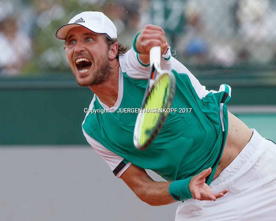 MISCHA ZVEREV (GER)<br /> <br /> Tennis - French Open 2017 - Grand Slam ATP / WTA -  Roland Garros - Paris -  - France  - 29 May 2017.