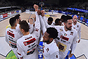 Campionato Italiano Basket 2017/18<br /> 17° Giornata - Ritorno - <br /> Trento 28/01/2018<br /> Dolomiti Energia Trentino - Umana Reyer Venezia79-83 <br /> Nella foto   team venezia  capanna time out <br /> Foto GiulioCiamillo/Ciamillo-Castoria