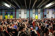 Meeting de Marine Le Pen a Sorgues dans le vaucluse avec Marion Maréchal Le Pen pour soutenir Gérard Gérent , candidats RBM pour les municipales 2014 a Sorgues