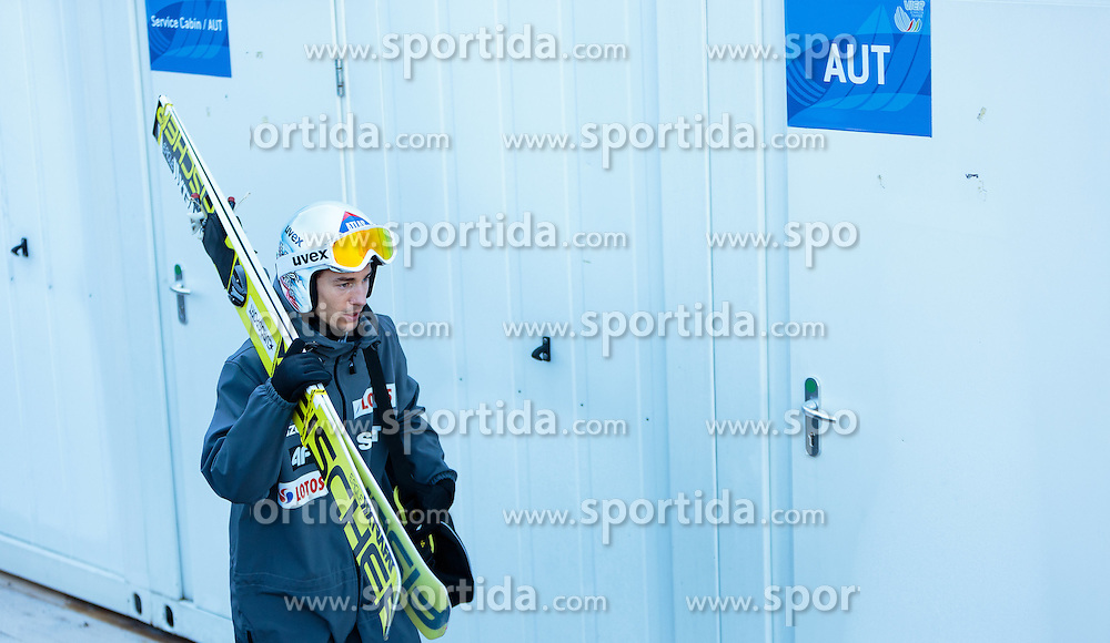31.12.2016, Olympiaschanze, Garmisch Partenkirchen, GER, FIS Weltcup Ski Sprung, Vierschanzentournee, Garmisch Partenkirchen, Training, im Bild Kamil Stoch (POL) // Kamil Stoch of Poland before the Practice Jump for the Four Hills Tournament of FIS Ski Jumping World Cup at the Olympiaschanze in Garmisch Partenkirchen, Germany on 2016/12/31. EXPA Pictures © 2017, PhotoCredit: EXPA/ JFK
