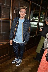 HENRY HOLLAND at a party to celebrate the launch of Sackville's Bar & Grill, 8a Sackville Street, London on 15th July 2015.