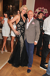 ALDO & NIKKI ZILLI at a party to celebrate Tamara Ecclestone's 28th birthday held in Tyringham, Newport Pagnell, Bucks on15th June 2012.