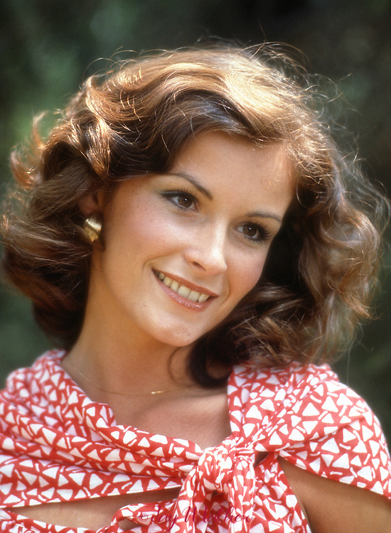 Terry Kaiser, Miss Indiana, 1978.  She was a graduate of DePauw University and planned to go the law school after her year's reign.  She was photographed at the Lilly Pavilion of the Indianapolis Museum of Art.  September 3, 1978
