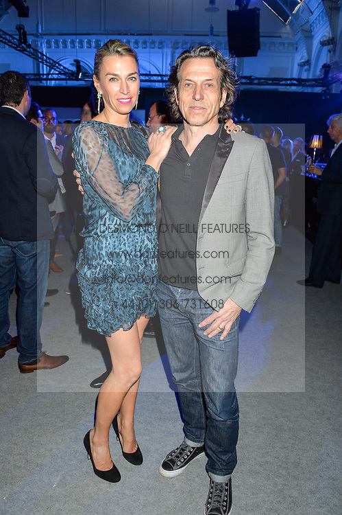 STEPHEN & ASSIA WEBSTER at the Maserati Levante VIP Launch party held at the Royal Horticultural Halls, Vincent Square, London on 26th May 2016.