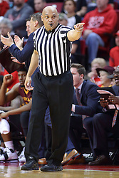 19 February 2017:  Ed Crenshaw during a College MVC (Missouri Valley conference) mens basketball game between the Loyola Ramblers and Illinois State Redbirds in  Redbird Arena, Normal IL