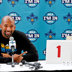 06-01-2012 New Orleans Hornets Draft Lottery Press Conference