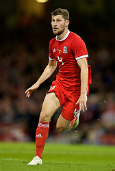 CARDIFF, WALES - Thursday, October 11, 2018: Wales' Ben Davies during the International Friendly match between Wales and Spain at the Principality Stadium. (Pic by Laura Malkin/Propaganda)