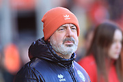 Keith Hill during the EFL Sky Bet League 1 match between Walsall and Rochdale at the Banks's Stadium, Walsall, England on 2 February 2019.
