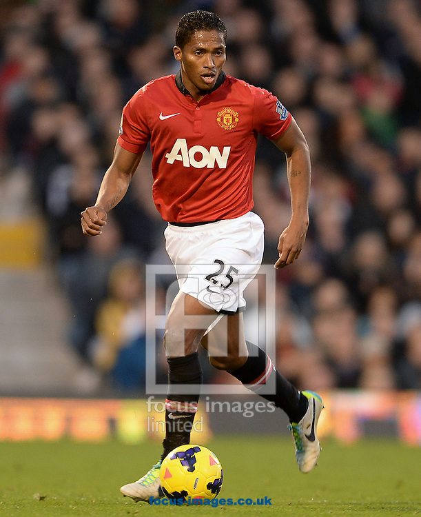 Picture by Andrew Timms/Focus Images Ltd +44 7917 236526<br /> 02/11/2013<br /> Antonio Valencia of Manchester United during the Barclays Premier League match against Fulham at Craven Cottage, London.