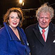 NLD/Amsterdam/20161222 - Première 32ste Wereldkerstcircus, Willibrord Frequin en partner Gesina Lodewijkxs
