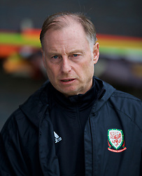 NEWPORT, WALES - Monday, October 14, 2019: Wales' Paul Bodin during an Under-19's International Friendly match between Wales and Austria at Dragon Park. (Pic by David Rawcliffe/Propaganda)