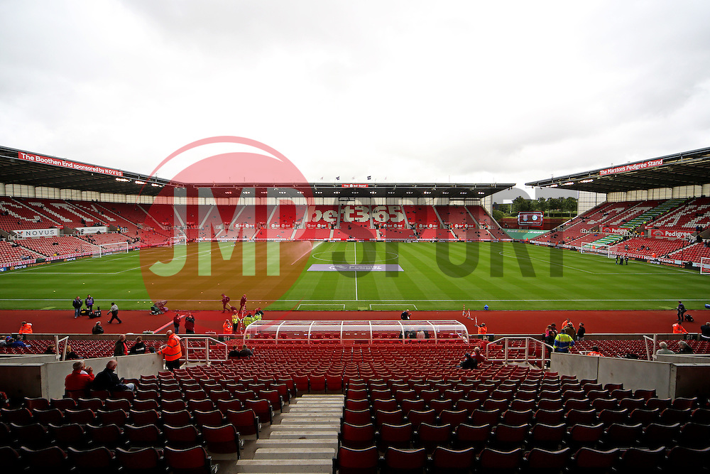 A general view of the Bet365 Stadium  - Mandatory by-line: Matt McNulty/JMP - 20/08/2016 - FOOTBALL - Bet365 Stadium - Stoke-on-Trent, England - Stoke City v Manchester City - Premier League