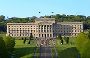 The Stormont Parliament Building in Belfast, Northern Ireland