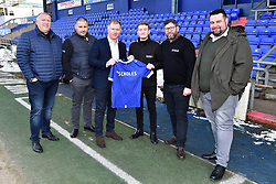 February 11, 2019 - Oldham, England, United Kingdom - Paul Scholes is unveiled as the new Oldham manager at a press conference after  at Boundary Park, Oldham on Monday 11th February 2019. (Credit Image: © Mi News/NurPhoto via ZUMA Press)