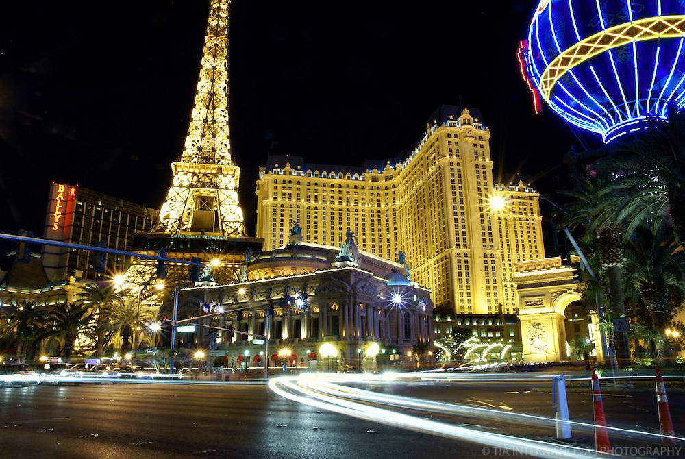 Las Vegas - The Paris Hotel @ Night