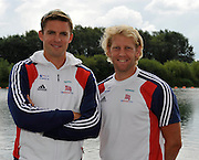 Reading, Great Britain, GBR M2-  left, Peter REED and Andy TRIGGS HODGE.  2011 GBRowing World Rowing Championship, Team Announcement.  GB Rowing  Caversham Training Centre.  Tuesday  19/07/2011  [Mandatory Credit. Peter Spurrier/Intersport Images]