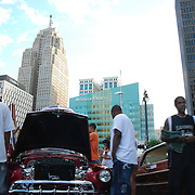 Hot Latin Night - Car Show<br /> Part of Cruisin' MotorCities Summer Festival, featuring low-riders, custom cars and salsa music.