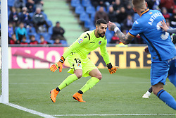 December 15, 2018 - Getafe, Madrid, Spain - Angel of Getafe in action during La Liga Spanish championship, , football match between Getafe and Real Sociedad, December 15, in Coliseum Alfonso Perez in Getafe, Madrid, Spain. (Credit Image: © AFP7 via ZUMA Wire)