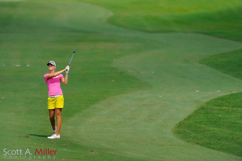 Megan McChrystal during the first round of the Symetra Tour Championship at LPGA International on Sept. 26, 2013 in Daytona Beach, Florida. <br /> <br /> <br /> ©2013 Scott A. Miller