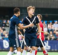 AMSTELVEEN - Derck de Vilder (Pinoke)     Play Outs Hockey hoofdklasse. Pinoke-Nijmegen (1-1) . Pinoke wint de shoot outs en blijft in de hoofdklasse. COPYRIGHT KOEN SUYK