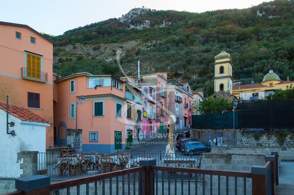 Sorrento, Italy, September 15 2017. A small village in the mountains above Sorrento, Italy. © Paul Davey