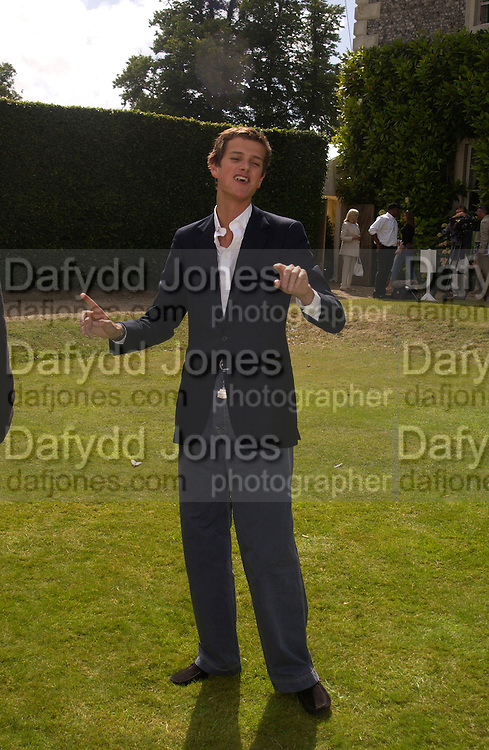 Alexander Spencer -Churchill, Cartier Style Et Luxe, Goodwood, 27 June 2004. SUPPLIED FOR ONE-TIME USE ONLY-DO NOT ARCHIVE. © Copyright Photograph by Dafydd Jones 66 Stockwell Park Rd. London SW9 0DA Tel 020 7733 0108 www.dafjones.com