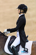 SYDNEY, AUSTRALIA - MAY 03: Jorjia Beard-Adams performs at The Sydney Concours de Dressage International on May 03, 2019 at The Sydney International Equestrian Centre in NSW, Australia. (Photo by Wendell Teodoro/Speed Media)