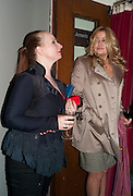 JUDITH OWEN; JENNIFER COOLIDGE, Press night for Ruby Wax- Losing it. Duchess theatre. London. 1 September 2011. <br /> <br />  , -DO NOT ARCHIVE-&copy; Copyright Photograph by Dafydd Jones. 248 Clapham Rd. London SW9 0PZ. Tel 0207 820 0771. www.dafjones.com.