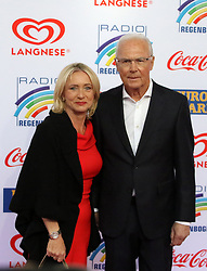 12.04.2019, Europa Park, Rust, GER, Radio Regenbogen Award 2019, im Bild Heidi und Franz Beckenbauer // during the Radio Rainbow Award at the Europa Park in Rust, Germany on 2019/04/12. EXPA Pictures © 2019, PhotoCredit: EXPA/ Eibner-Pressefoto/ Joachim Hahne<br /> <br /> *****ATTENTION - OUT of GER*****