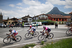 Clara Koppenburg (GER) of Cervélo-Bigla Cycling Team rides mid-pack in the first kilometers of Stage 4 the Emakumeen Bira - a 58 km road race, between Etxarri Aranatz and San Miguel on May 20, 2017, in Basque Country, Spain. (Photo by Balint Hamvas/Velofocus)