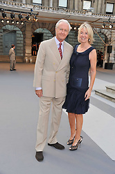 GALEN & HILARY WESTON at the Royal Academy of Arts Summer Exhibition Preview Party at Burlington House, Piccadilly, London on 2nd June 2011.