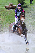 Undalgo De Windsor ridden by Ginny Howe in the Equi-Trek CCI-L4* Cross Country during the Bramham International Horse Trials 2019 at Bramham Park, Bramham, United Kingdom on 8 June 2019.