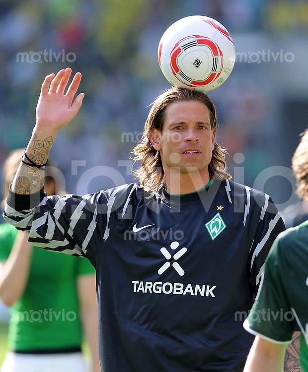 FUSSBALL   1. BUNDESLIGA   SAISON 2010/2010   33. Spieltag SV Werder Bremen - Borussia Dortmund                 07.05.2011 Tim WIESE (SV Werder Bremen)