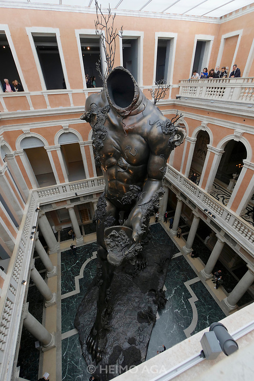Palazzo Grassi. Damien Hirst: Treasures from the Wreck of the Unbelievable.<br /> Demon with Bowl.
