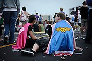 Weezer fans at The Bamboozle in East Rutherford, New Jersey. May 2, 2010. Copyright © 2010 Matt Eisman. All Rights Reserved.