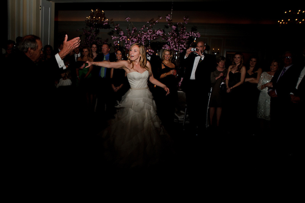 photo by Matt Roth.Saturday, April 14, 2012.Assignment ID: 30124225A..Molly Spencer Palmer and Lee Cowan celebrated their marriage with a reception at the Chevy Chase Club in Washington D.C. Saturday, April 14, 2012.