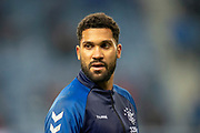 Wes Foderingham (#13) of Rangers FC before the Ladbrokes Scottish Premiership match between Rangers and Aberdeen at Ibrox, Glasgow, Scotland on 5 December 2018.