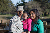 African American Air Force Family