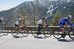 Kristabel Doebel-Hickok and Coryn Rivera at Amgen Breakaway from Heart Disease Women's Race empowered with SRAM (Tour of California) - Stage 2. A 108km road race in South Lake Tahoe, USA on 12th May 2017.