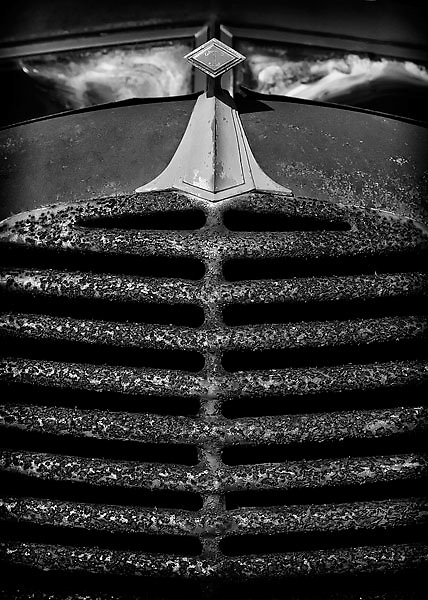 Front Grill of Old Car