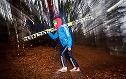 05.01.2014, Paul Ausserleitner Schanze, Bischofshofen, AUT, FIS Ski Sprung Weltcup, 62. Vierschanzentournee, Qualifikation, im Bild Denis Kornilov (RUS)/ / Denis Kornilov (RUS) during qualification Jump of 62nd Four Hills Tournament of FIS Ski Jumping World Cup at the Paul Ausserleitner Schanze, Bischofshofen, Austria on 2014/01/05. EXPA Pictures © 2014, PhotoCredit: EXPA/ JFK