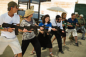 Sun, gun and wine - tourists taste life of Israeli settlers for the Sunday Times