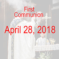 St Catherine 1st Communion 04-28-18