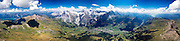 360° Panorama Bernese Alps & Lakes