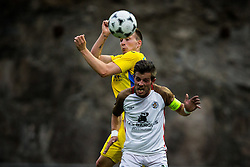 during football match between NK Domzale and FC Lusitanos Andorra in second leg of UEFA Europa league qualifications on July 7, 2016 in Andorra la Vella, Andorra. Photo by Ziga Zupan / Sportida