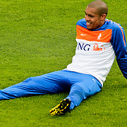 AUS/Seefeld/20100529 - Training NL Elftal WK 2010, Nigel de Jong