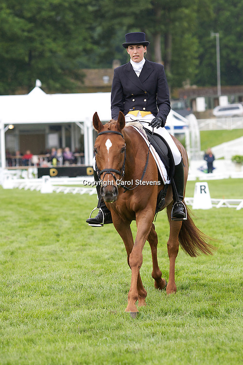 Lisa Sabbe (Belguim) riding Go (Prince of Rides)ki<br />