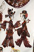 Liulichang art and antiquities street. Shadow puppets.